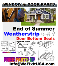 Winterizing maintenance guides and helpful D.I.Y. tips for old windows and doors from WeFixItUSA..