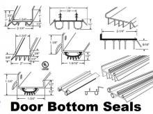 Offering the widest online selection of door bottom sweep-seals and residential door weatherstrip nationwide USA