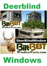 Looking for the best in quality deer hunting blind, stand and shooting tower windows for the upcoming whitetail deer hunting season in your area?