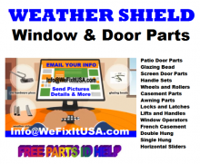 Online reference PDF guides for Patio Door and Window replacement parts and Free Parts ID Help Online.